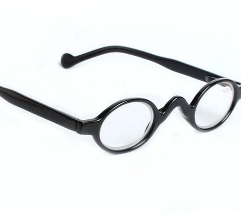 YOOSKE Reading Glasses Round Readers Small Ultra-light Eyeglasses Hyperopia Resin Glasses Anti-fatigue Glasses