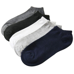 5 Pair Fashion New Arrival Men's Socks Classical Quality Casual Summer Autumn Style 5 Color Casual Breathable Sock Man Meias Sox-modlily