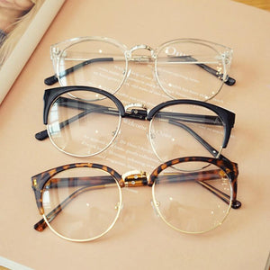 Cheap Transparent Spectacle Frame Anti-fatigue For Cat Eyes Men's Glasses Women Oculosmodlilj-modlily