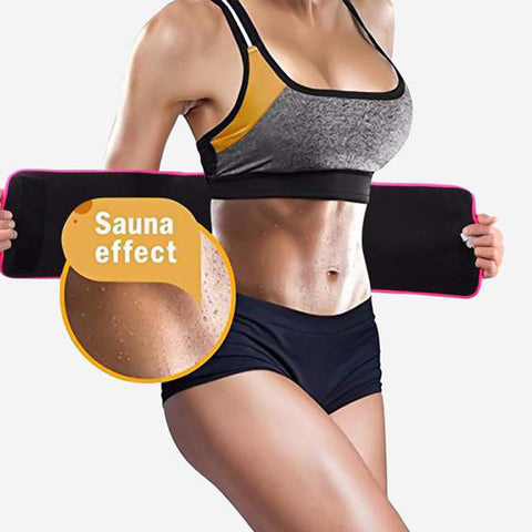 YUMDO Sweat Belt Body Shaper Weight Loss Fajas Fajas Reductors Neoprene Waist Trainer Cincher