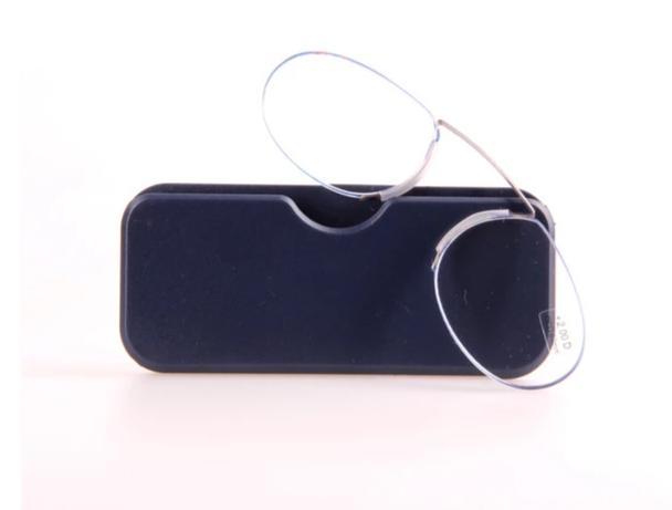 AOUBOU Brand 2018 Super-elastic Nose Clip On Mini Reading Glasses With Case Unisex 1.5 2.0 2.5 Portable Wallet Reader AB006-modlily