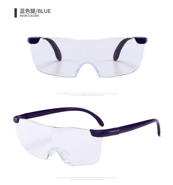 J N TV product enlarge magnifying glasses 160 degrees one reading glasses 250 degrees of the big vision YXINGLAOHUA+250-modlily