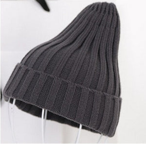 Free Shipping 2018 New Fashion Winter Quality Acrylic Hat Knitted Hat Pointy Hat For Women/Ladies 19 Colors-modlily