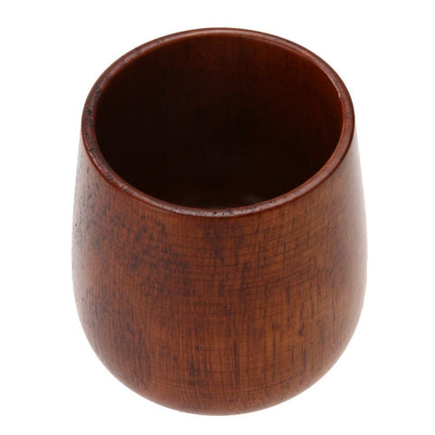 Wooden Cup Jujube Wooden Beer Cup Handmade Natural High Quality Tea Cup Breakfast Beer Milk Drinkware