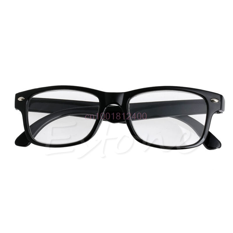 Classic Black Frame Retro Style spring Reading Glasses Readers +1.0 - 4.0-modlily