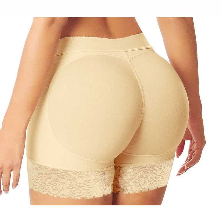 Hot Shaper Pants Sexy Boyshort Panties Woman Fake Ass Underwear Push Up Padded Panties Buttock Shaper Butt Lifter Hip Enhancer-modlily