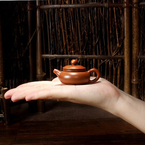 Yixing Tea Pot Purple Sand Little Tea Pet Ceramic Teapot Pocket Mini Tea Pot Play Furnishing Articles C $-modlily