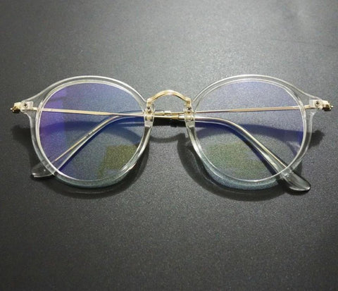 d832befa05086 Luxuy Brand Round Clear Glasses Women Transparent Spectacle Eyewear Frames  Vintage Menmodlilj-modlily