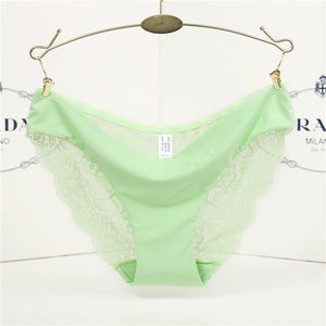 Hot Sale women's sexy Thong lace panties seamless string panty briefs Female underwear intimates Girl Women's Panties-modlily