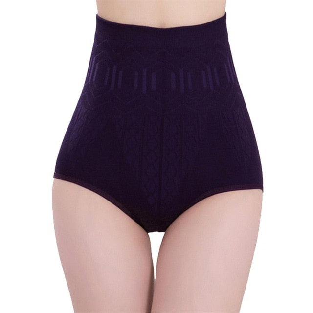 Seamless Women High Waist Slimming Tummy Control Knickers Pants Pantie Briefs Shapewear Magic Body Shaper Lady Underwear-modlily