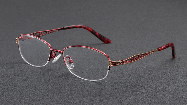 WEARKAPER Resin coating Hollow Transition Photochromic Reading Glasses Women Presbyopia diopters Gafas de lectura leesbril-modlily
