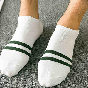1 Pair Ankle Crew Men Cotton Blend Casual Socks low cut Casual Color Sock Fashion Hot Sale 2017-modlily