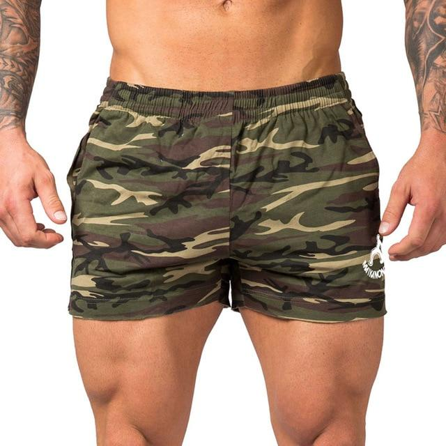 MAIKANONG 2018New fashion men's shorts and beach shorts, cotton and bodybuilding shorts and g yms shorts Big size 226-modlily