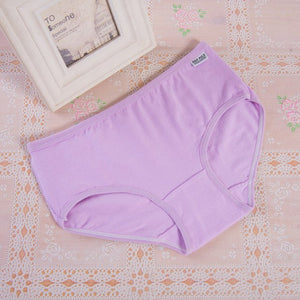 Fashion Sexy Women's Cotton Underwears Women's Briefs Ladies Panties Breathable Underpants Girls Knickers for Female M XL-modlily