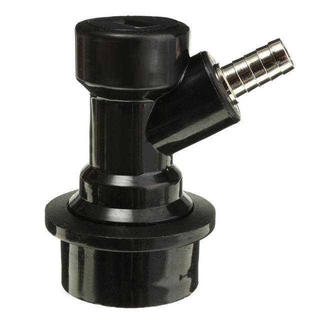 "1/4"" 7/16"" Plastic Homebrew Beer Keg Connectors Dispenser Ball Lock Disconnect Straight&Thread Connector Homebrew Bar Accessory-modlily"