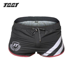 TQQT Shorts Mens Striped Swimwear Elastic Waist Shorts Mens Print Joggers Male Shorts Summer Bermuda Sunga Men Sexy Short 6P0602-modlily