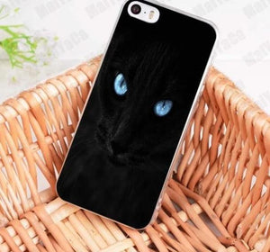 sports shoes 9db3e 7415f MaiYaCa Black Cat Staring Eye On Sale! Luxury Cool phone Case for ...