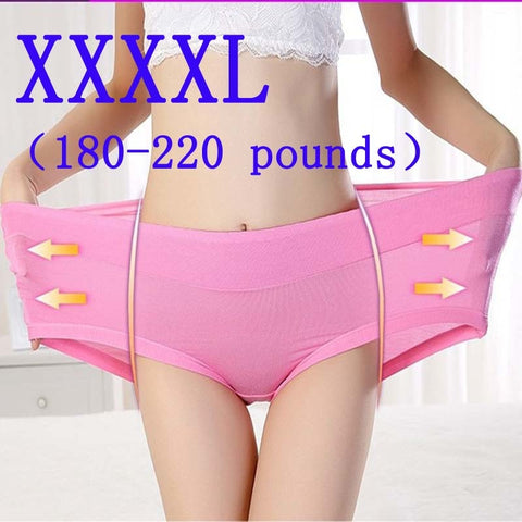 XXXXXL Plus Size New Panties Women Underwear Ladies Comfort Female Calcinhas Briefs Sexy Underwear Brand Modal Panties For Women-modlily