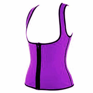 Plus Size Women body shapers vest Zipper waist trainer Slimming Vest shapewear Slimming belt Waist shaper corset-modlily