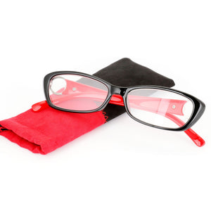 +1.0~+3.5 Red Purple Colorful Readers Fashion Women Presbyopic Glasses Optical Glasses Spectacles Lens Womens Reading Glasses-modlily