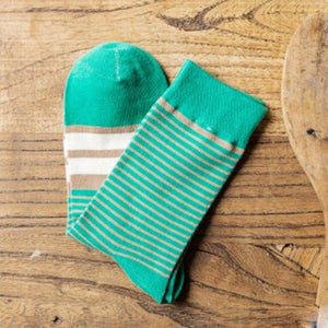Cotton men crew socks striped male Socks casual vintage harajuku calcetines homme Summer happy funny style popsocket EUR 39-44-modlily