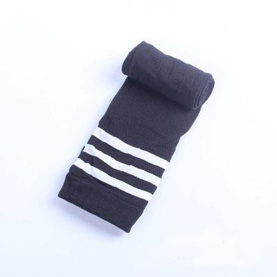 Compression Socks with Reinforced Striped men's stockings sexy Terry Men Stocking Men's knee-length socks velvet-modlily