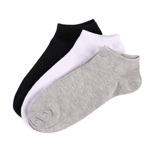 1 Pair Bamboo Socks Men Socks Solid Color Bamboo Fiber Breathable Classic Socks for Gentleman Casual Random Color-modlily