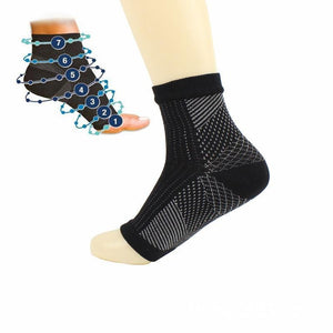 Newest Comfort Foot Anti Fatigue Men/women Compression Socks Sleeve Elastic Socks For Men/Women Ankle Guard Socks One Pair-modlily