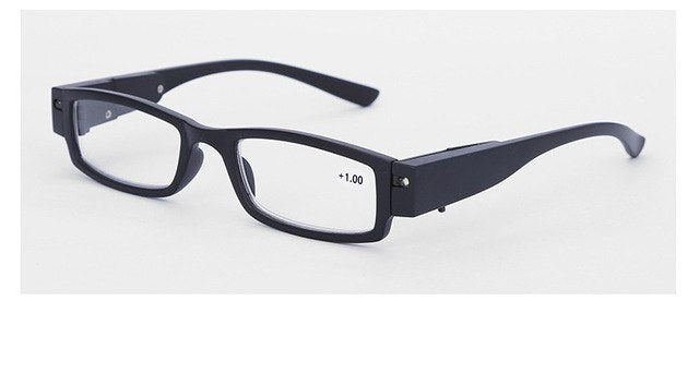 Reading Glasses Men Women with illumination Male Frame Degree Eyeglasses Led Light Reading Glasses for sight-modlily