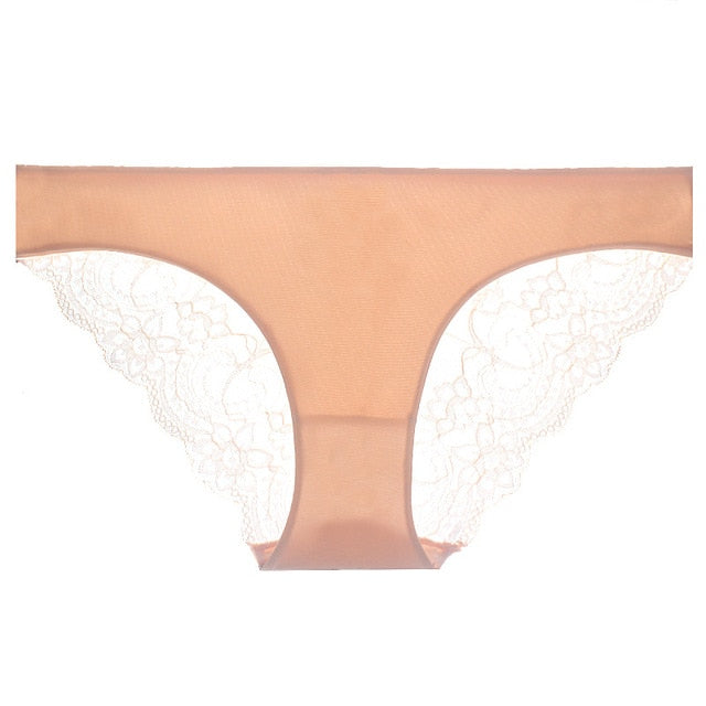 Hot sale! l women's sexy lace panties seamless cotton breathable panty Hollow briefs Plus Size girl underwear-modlily