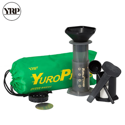 YRP YuroPress French Press Coffee Household Portable DIY Coffee Pot Machine Pot Air Press Coffee Maker YRP-002