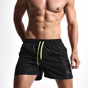 Aimpact Quick Dry Men's Board Shorts Fashion Sea Short Maillot De Bain Beach Bermuda Sexy Solid Man Hybrid Short Male Short SD01-modlily