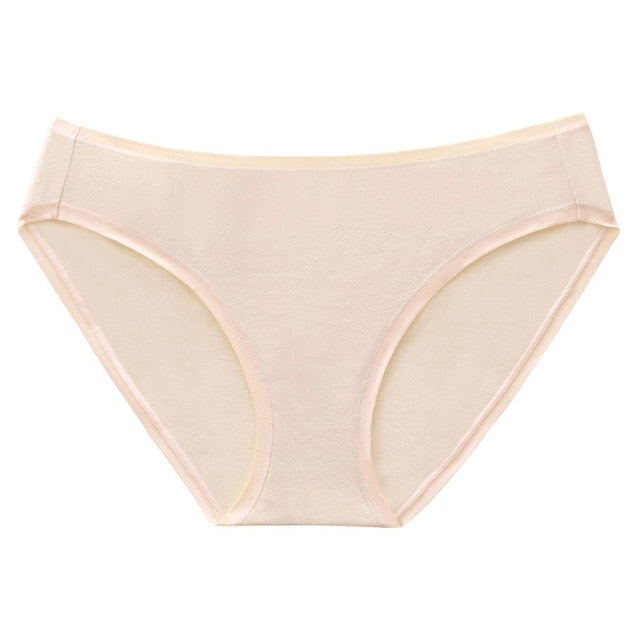 Wealurre Underwear Women Cotton Briefs Breathable Lingerie Bikini Panties-modlily