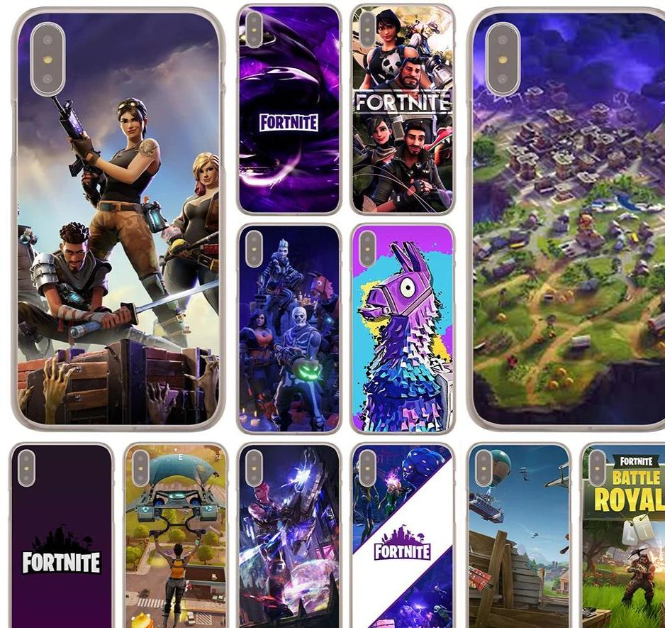 WEBBEDEPP Fortnite Cool Case for Apple iPhone X or 10 8 7 6 6S Plus 5 5S SE 5C 4 4S-modlily