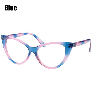 SOOLALA Reading Glasses Women Cat Eye Glasses Full Frame Eyeglasses +0.5 0.75 1.0 1.25 1.5 1.75 2.0 2.5 2.75 3.0 3.5 4.0 4.5 5.0-modlily