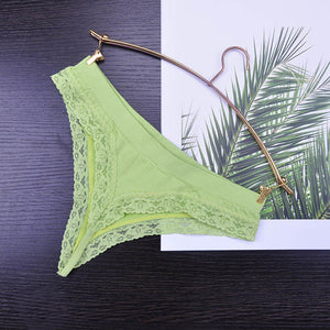 8color Gift full beautiful lace Women's Sexy lingerie Thongs G-string Underwear Panties Briefs Ladies T-back 1pcs/Lot 169-modlily