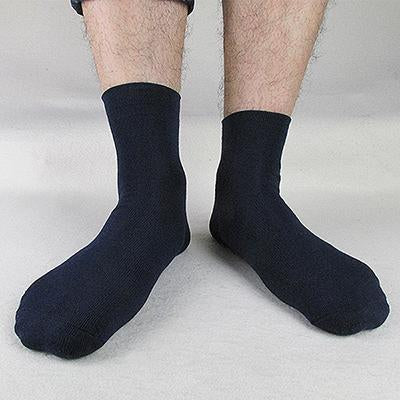 High Quality Casual Men's Business Socks For Men Cotton Brand Crew Autumn Winter Black White Socks meias homens 6 Pairs dropship-modlily