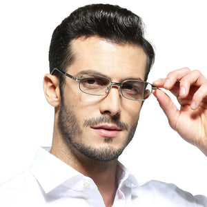 Men Women Metal Frame Crystal Lenses Reading Glasses Anti Fatigue Anti Scratch Female Male Eyewear +1.0 1.5 2.0 2.5 3.0 3.5 4.0-modlily