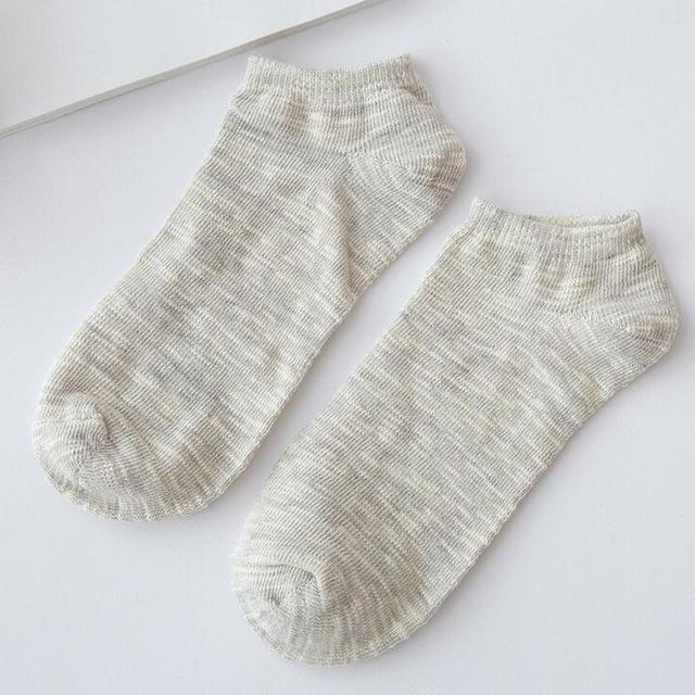 Men's Cotton Warm Socks Crew Ankle Low Cut Casual Business Classic Cotton Socks New Arrival print short soft socks-modlily