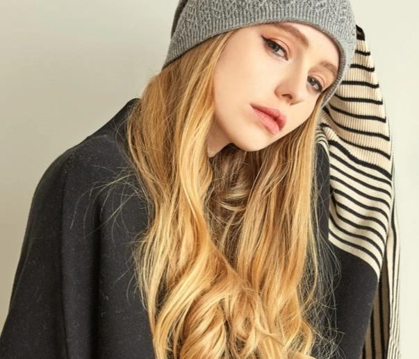 VIANOSI Winter Knitted Wool Hat For Women Warm Casual Beanie Caps Winter Brand Gorros Mujer Invierno Fashion Hats-modlily