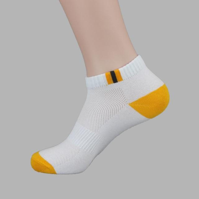 2 pairs/pack New Autumn Summer Adult Mens Fashion Cotton tube Socks mesh comfortable socks for male-modlily