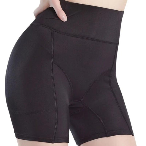 PRAYGER Plus Size Women High Waist Butt Lifter Fake Ass Padded Shaper Up Hip Booster Enhancers Removable Pads Control Panties-modlily