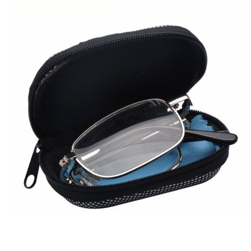 Unisex Reading Glasses Portable Reading Glasses Men Women Foldable Magnifying Readers +1.0 To +4.0 With Case-modlily