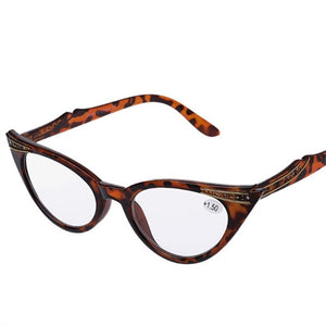 YOOSKE Women Cat Eye Reading Glasses Presbyopic Eyeglass Spectacles Resin Len 1.0 1.5 2.0 2.5 3.0 3.5-modlily