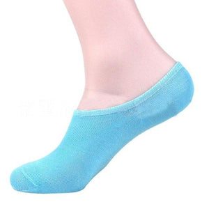 Candy Colors Socks Cotton Invisible Soks Men Cotton Ship Boat Short Sock Ankle Invisible Socks Warm Winter Drop Shipping Y8033-modlily