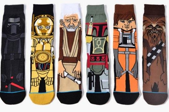 6 Pairs Star Wars Socks American Cartoon Men Socks Black Warrior Personality Warm Socks Long Crew Star Wars Socks-modlily