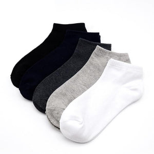 10PCS = 5 pairs large size men's socks 43, 44, 45, 46, 47, 48 fashion casual high quality classic business socks-modlily