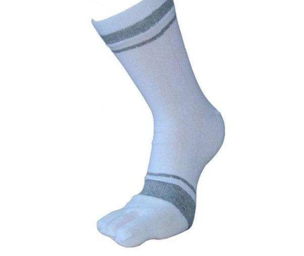 Mooistar #4022D 1 Pair Male Cotton Warm Socks Men Middle Tube Five Finger Toe Socks Free Shipping-modlily