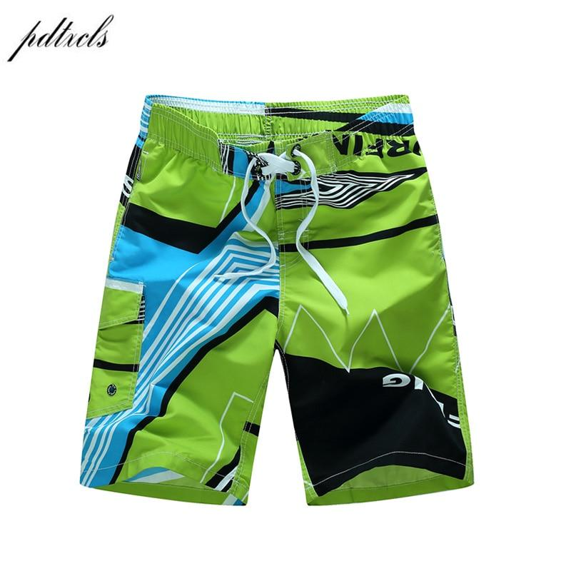 Summer Quick-drying Board Shorts Trunks Mens Beach Shorts Fashion Printed Beach Shorts Bermuda MasculinaDe Marca Homme Short-modlily