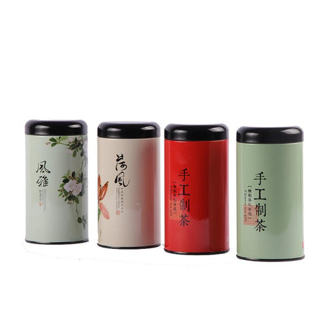 Xin Jia Yi Packaging Metal Paint Tin Box Recycled Round Rose Tea Storage Container Christmas Party Candy Package Boxes